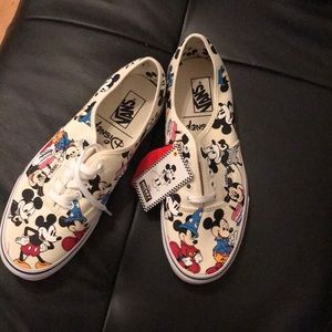 Vans Disney Mickey's Birthday.  Brand new. Size 10